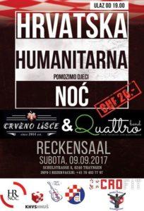 Humanitarna Hrvatska Noć @ Reckensaal | Thayngen | Schaffhausen | Switzerland