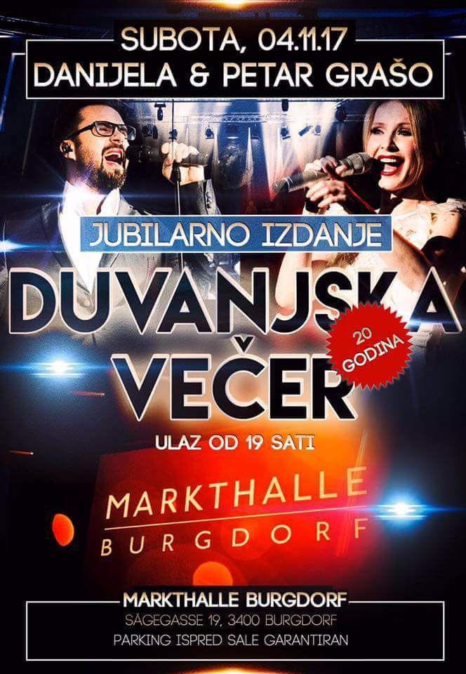 Duvanjska večer @ Market Hall Burgdorf AG | Burgdorf | Bern | Switzerland