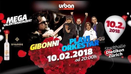 GIBONNI & PLAVI ORKESTAR @ Stadthalle Dietikon | Dietikon | Zürich | Schweiz