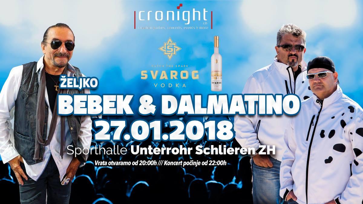 Željko Bebek & Dalmatino @ Sporthalle Unterrohr | Schlieren | Zürich | Schweiz