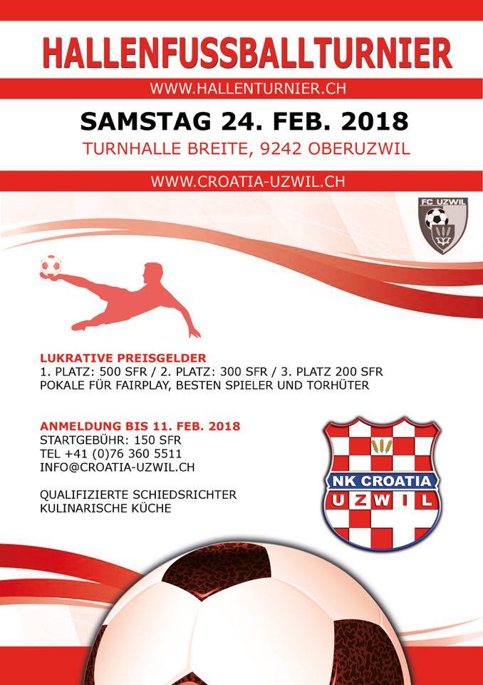 Malonogometni turnir @ Turnhalle Breite | Oberuzwil | Sankt Gallen | Schweiz