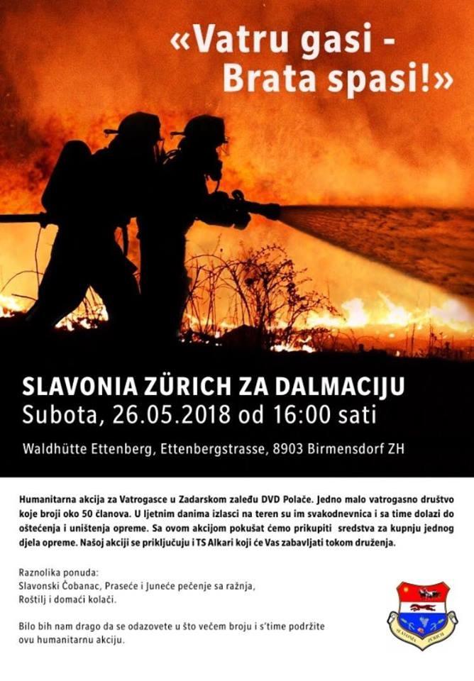 Slavonia Zürich za Dalmaciju @ Waldhütte Ettenberg | Birmensdorf | Zürich | Schweiz