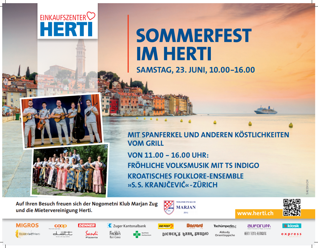 Sommerfest @ Einkaufszentrum Herti | Zug | Canton of Zug | Switzerland