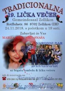 Tradicionalna Lička večer @ Gemeindesaal Zollikon | Zollikon | Zürich | Switzerland