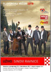 Slavonsko-baranjska večer u Stuttgartu @ Stadthalle Gerlingen | Gerlingen | Baden-Württemberg | Germany