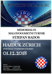 Malonogometni turnir Hajduk ZH @ Unterrohr Sporthalle | Schlieren | Zurich | Switzerland