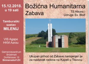 Božićna humanitarna zabava @ Gemeindezentrum Bruellmatt | Birmensdorf | Zürich | Switzerland