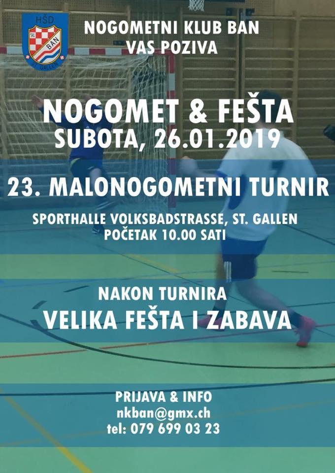 Turnir & Fešta NK Ban SG @ Sporthalle  | St. Gallen | Sankt Gallen | Switzerland