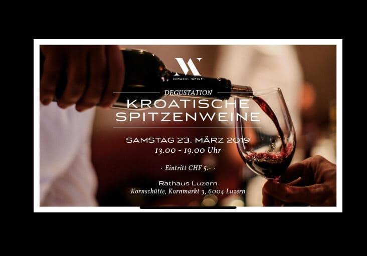 Degustacija hrvatskih vina @ Rathaus Luzern | Luzern | Luzern | Switzerland