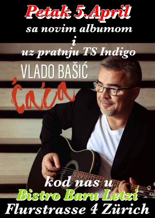 Vlado Bašić i Indigo u Baru Letzi @ Bar Letzi  | Zürich | Zürich | Švicarska