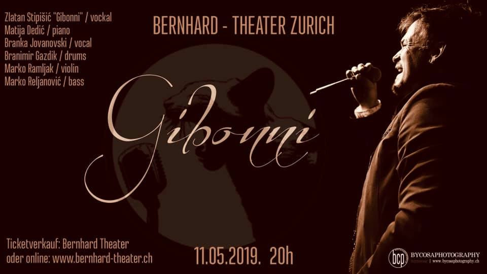 Koncert Gibonni @ Bernhard Theater | Zürich | Zürich | Švicarska