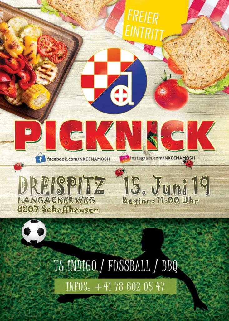 Piknik NK Dinamo @ Dreispitz | Schaffhausen | Schaffhausen | Švicarska