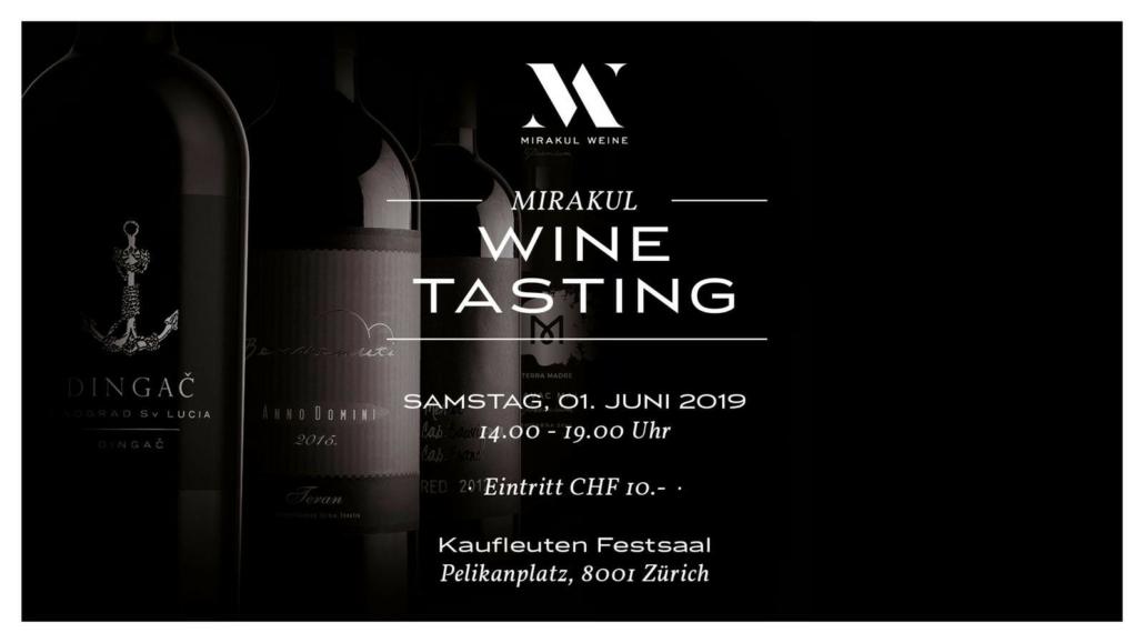 Degustacija hrvatskih vina @ Kaufleuten Festsaal | Zürich | Zürich | Švicarska