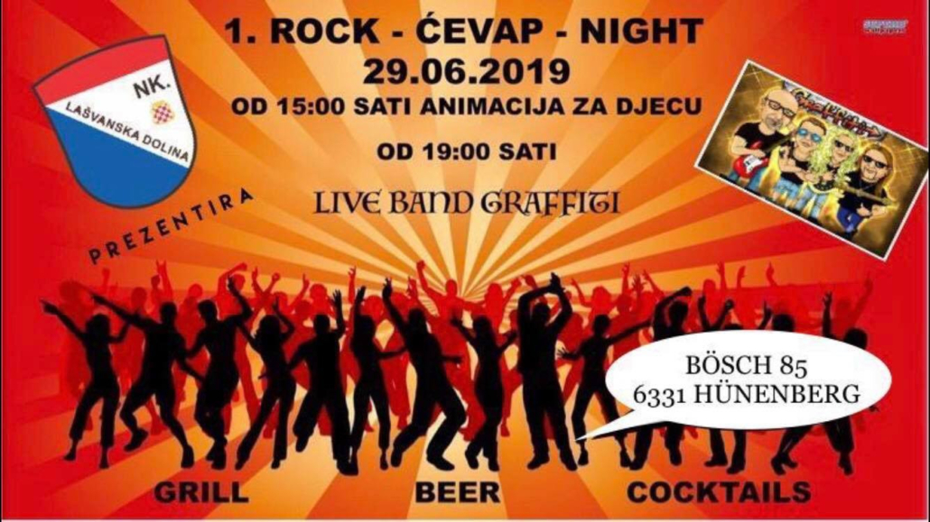 ROCK - ĆEVAP -NIGHT @ Bösch 85 | Hünenberg | Canton of Zug | Švicarska