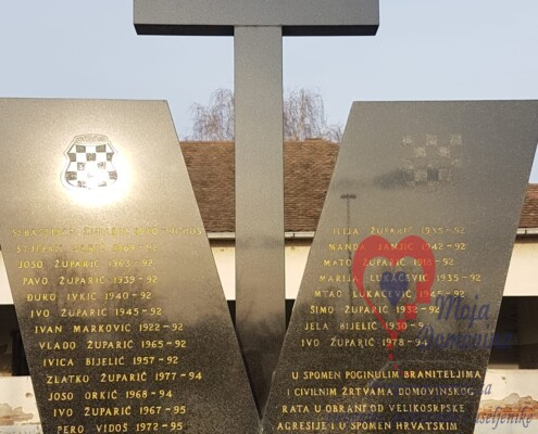 Spomenik u Kopanicama