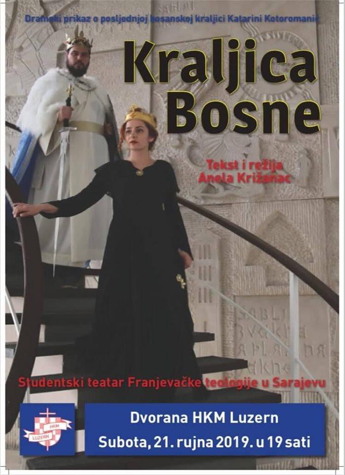 Predstava u Luzernu- Posljednja kraljica Bosne @ HKM Luzern | Luzern | Luzern | Switzerland