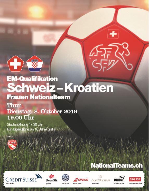 Utakmica Švicarska - Hrvatska @ Stockhorn Arena | Thun | Bern | Švicarska