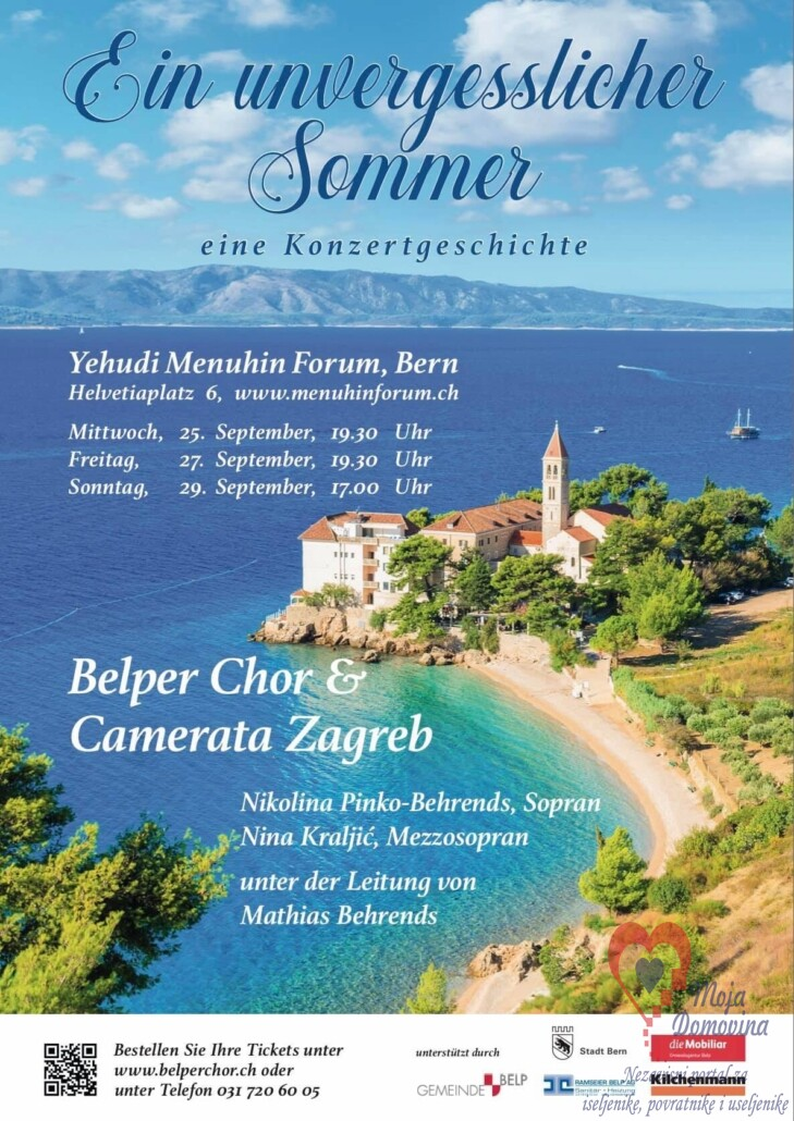 Koncert Camerata Zagreb & Belper Chor @ Menuhin Forum | Bern | Bern | Švicarska