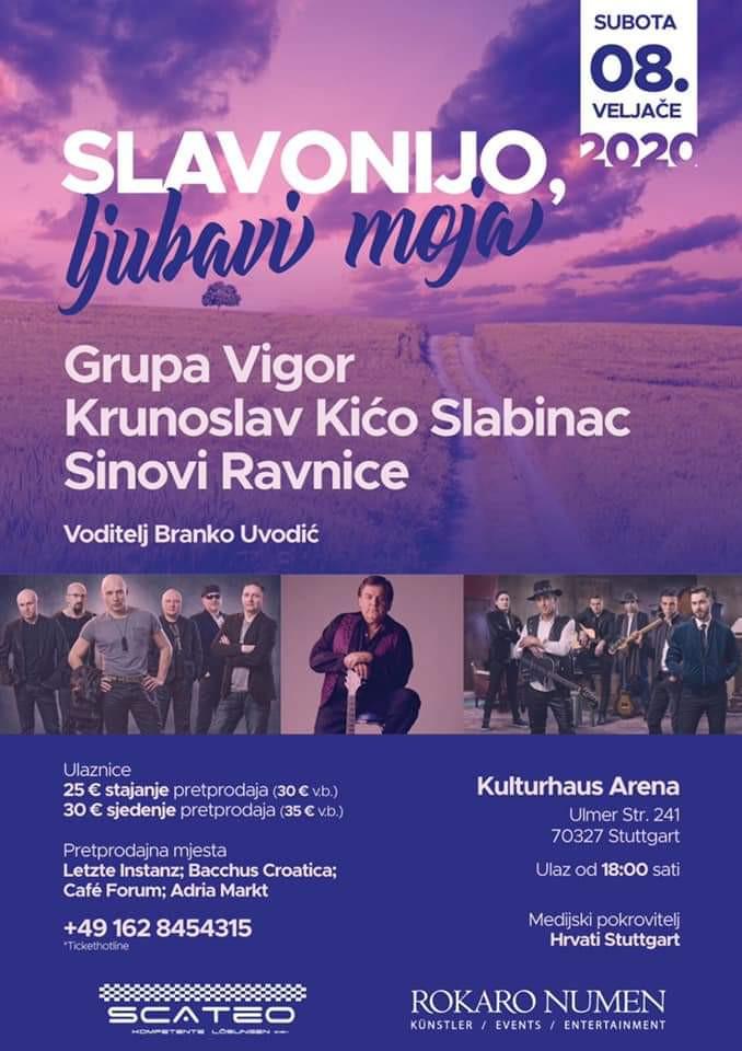 Slavonska večer u Stuttgartu @ Kulturhaus Arena | Stuttgart | Baden-Württemberg | Germany