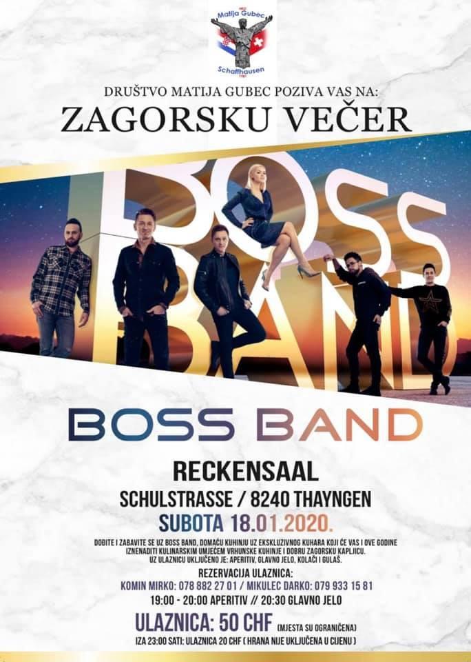 Zagorska večer @ Reckensaal | Thayngen | Schaffhausen | Switzerland