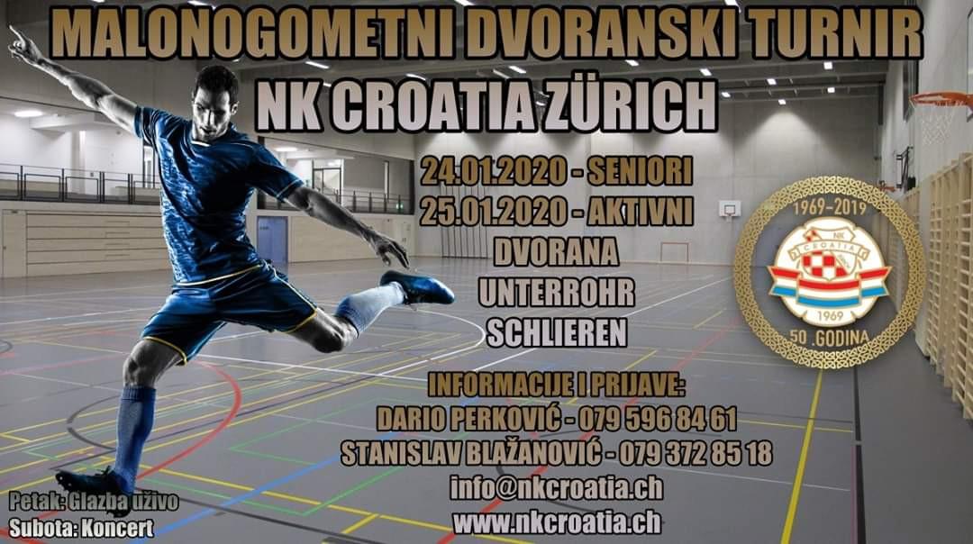 Malonogometni turnir NK Croatia Zürich @ Sporthalle Unterrohr | Schlieren | Zürich | Switzerland