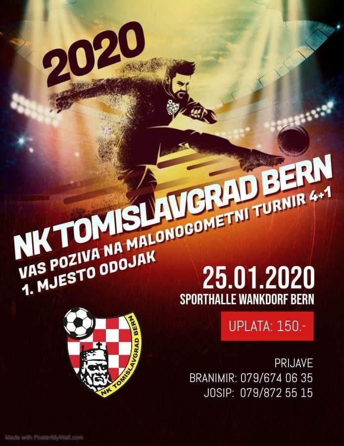 Malonogometni turnir NK Tomislavgrad Bern