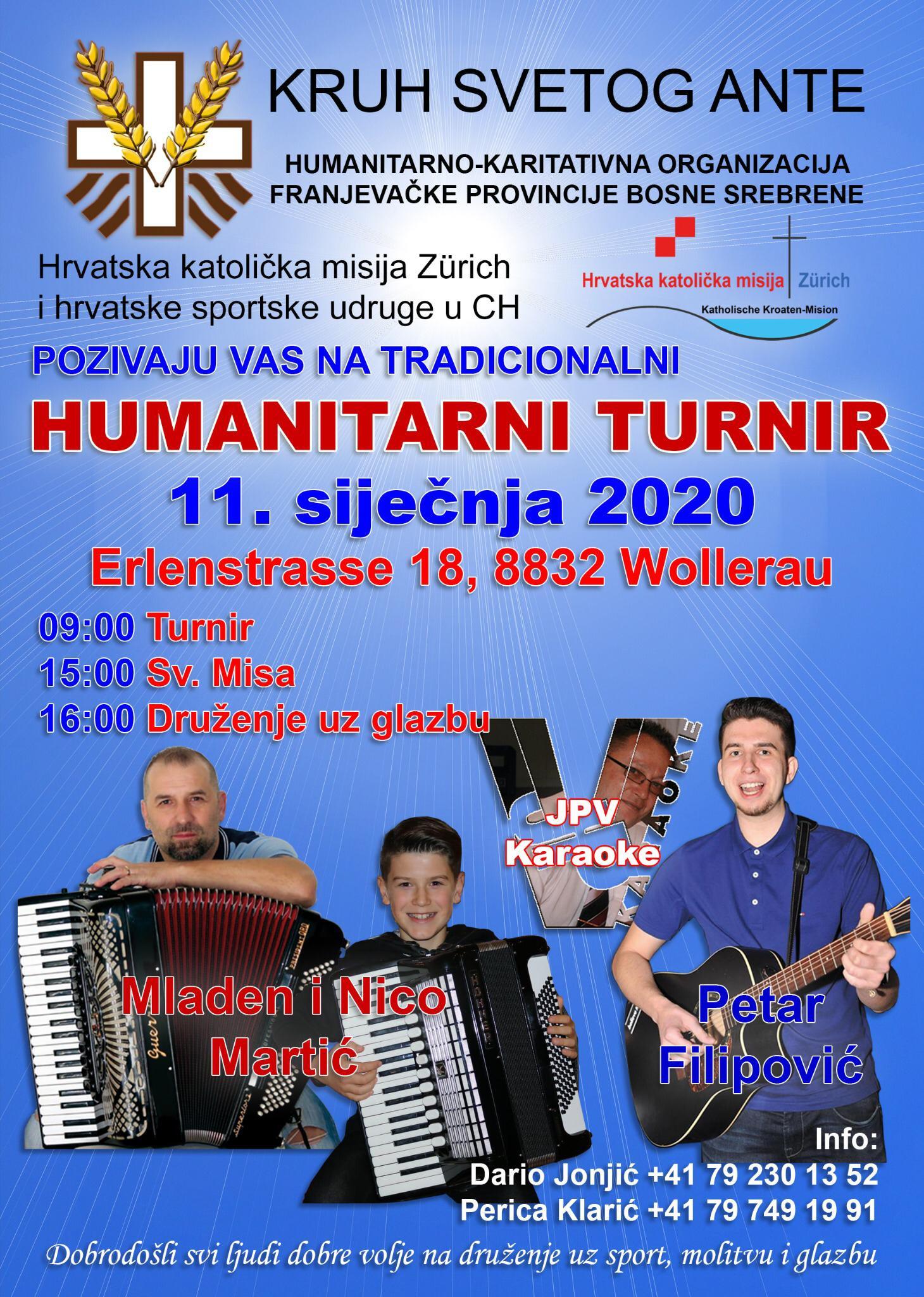 Humanitarni turnir Kruh sv. Ante @ Wollerau | Schwyz | Switzerland