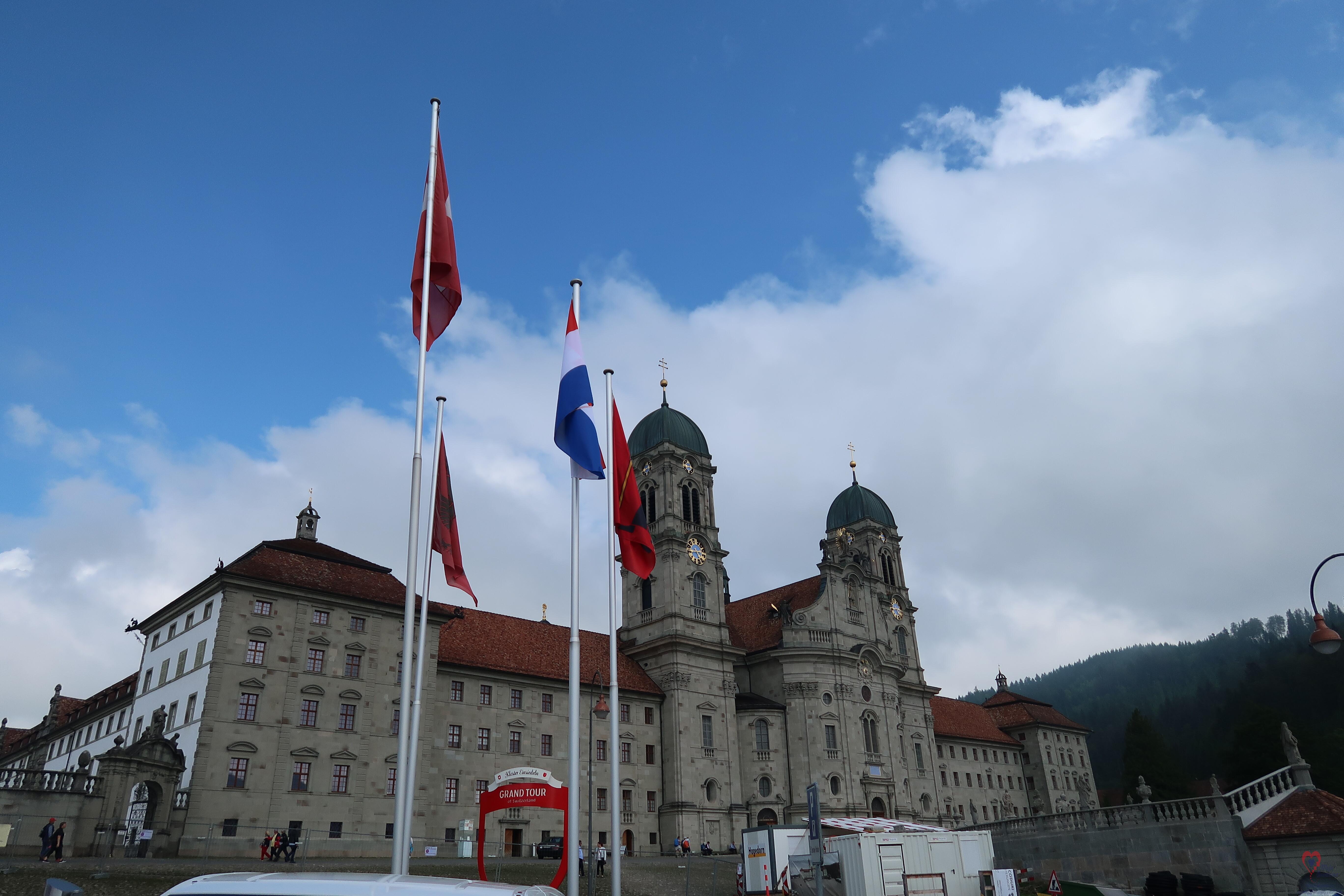Rumeni list @ Kloster Einsiedeln | Einsiedeln | Schwyz | Switzerland