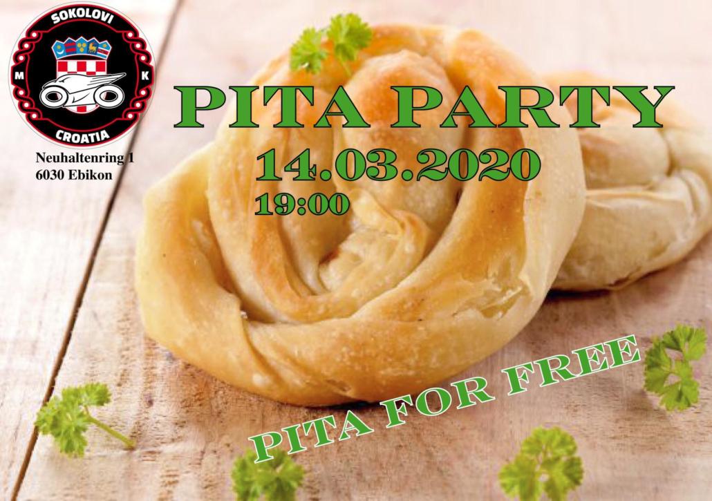 Pita party Motoklub Sokolovi @ Klub  | Ebikon | Luzern | Schweiz