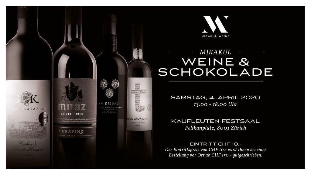 Degustacija hrvatskih vina - OTKAZANO!!! @ Kaufleuten Festsaal | Zürich | Zürich | Schweiz