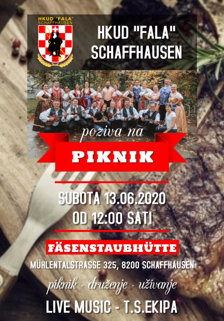 "Piknik HKUD ""Fala"" @ Fäsenstaubhütte  | Schaffhausen | Schaffhausen | Švicarska"