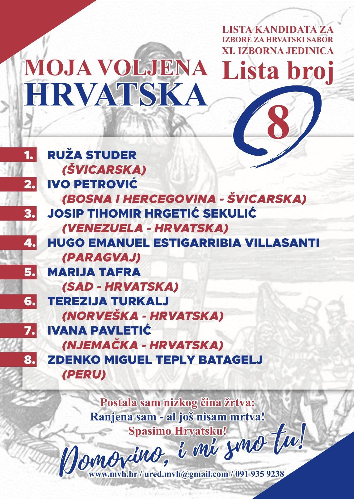 Moja voljena Hrvatska